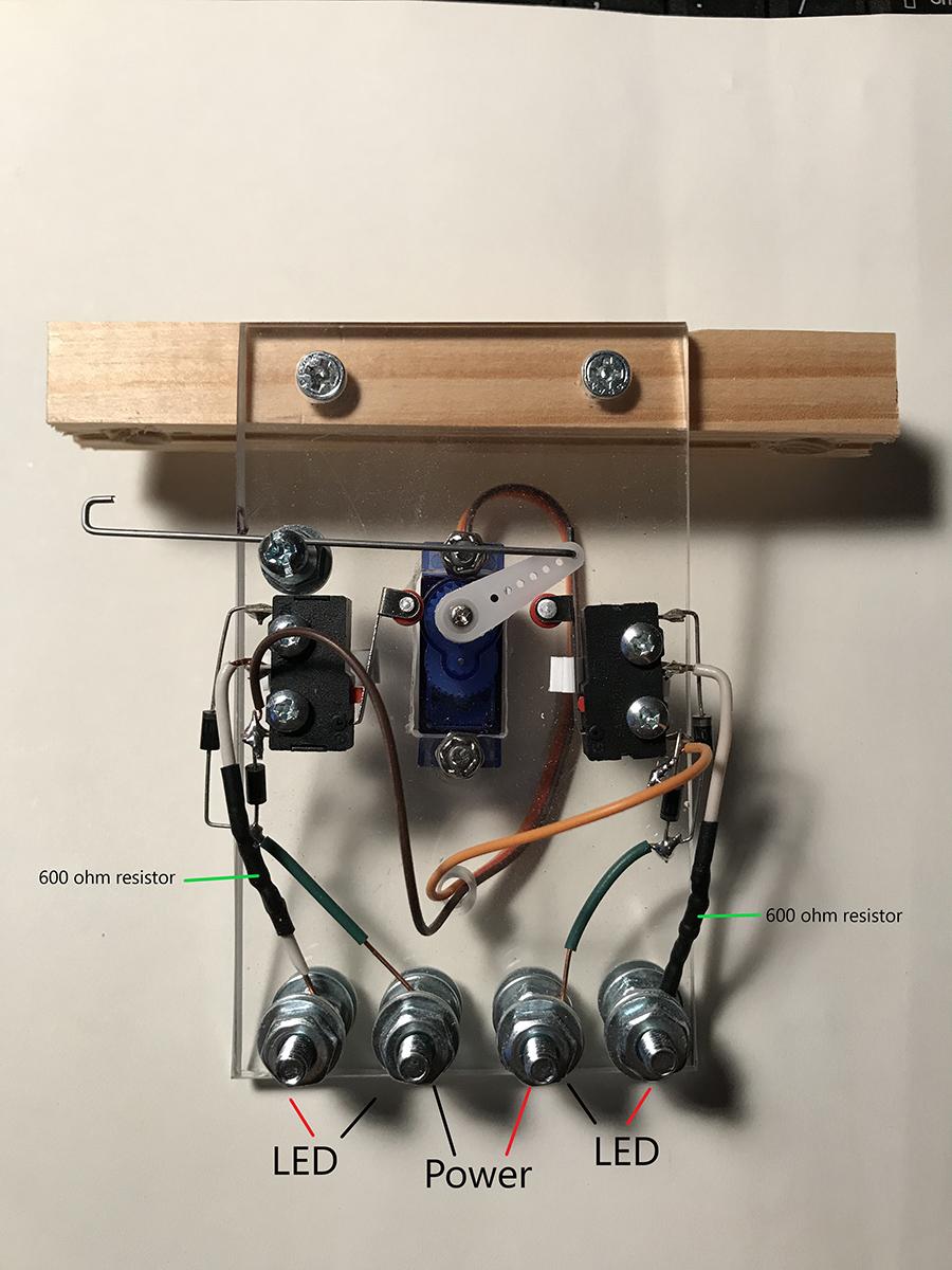model railroad switch machine
