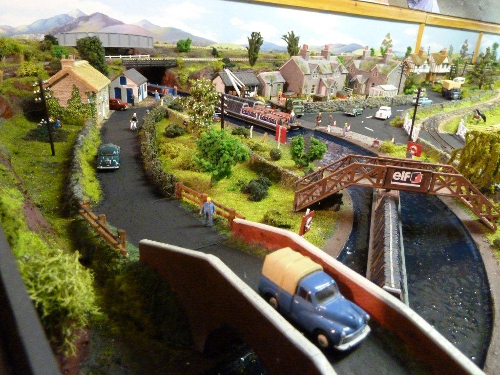 model train canal