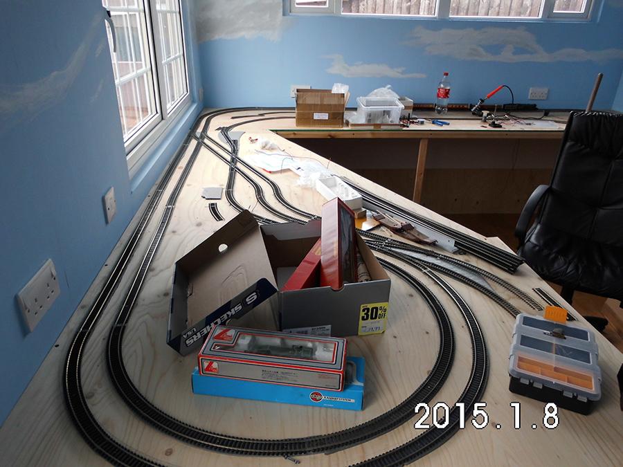 model railway plan