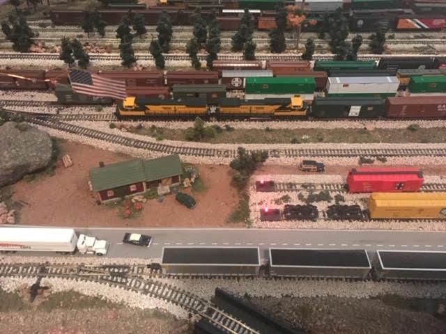 model train yard