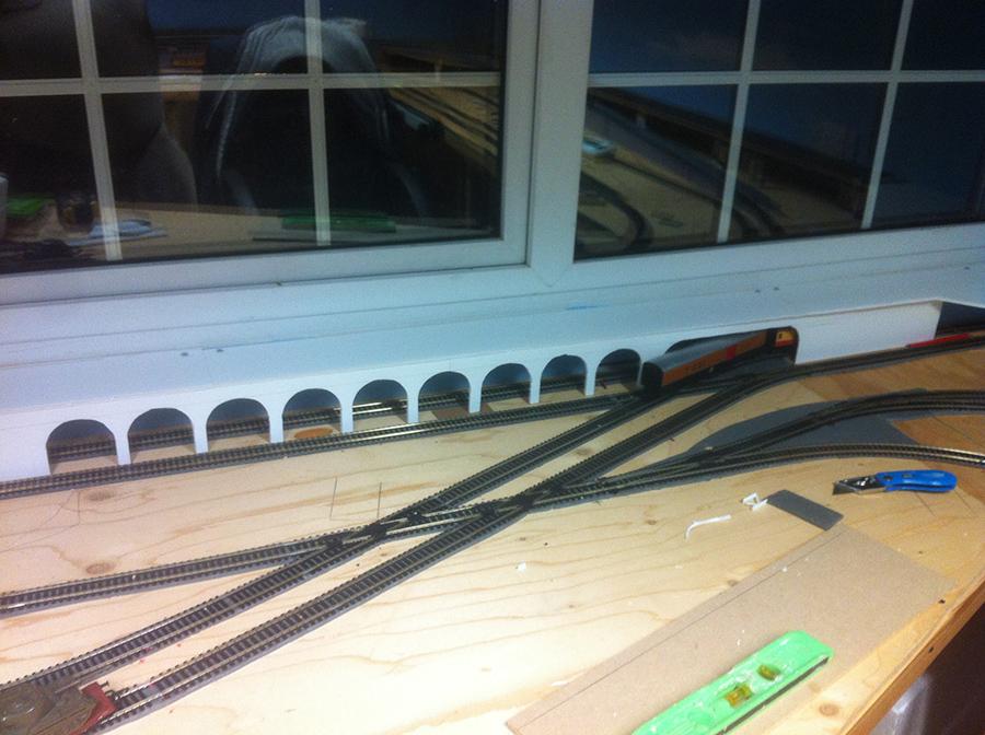 model railway shelf plan