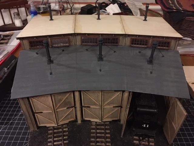 O scale roundhouse