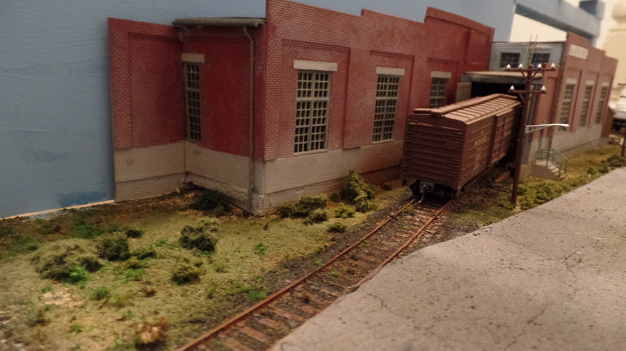 HO model railroad kit bash
