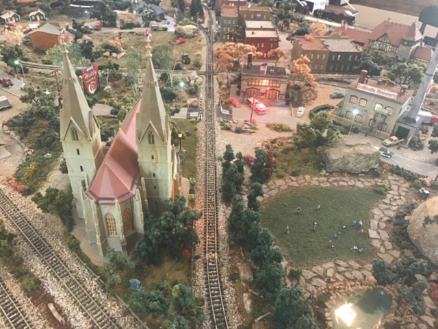 N scale church