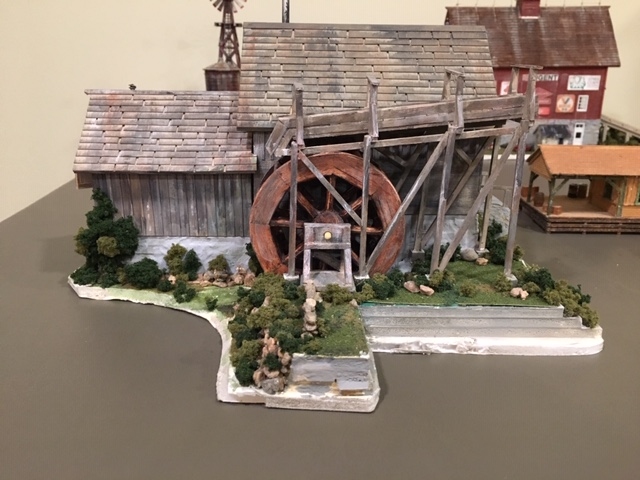 HO scale scenery