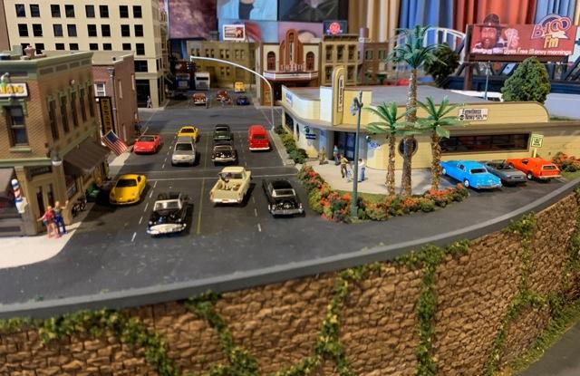 HO model train