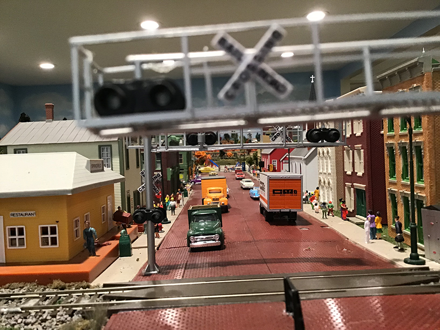 model railroad street