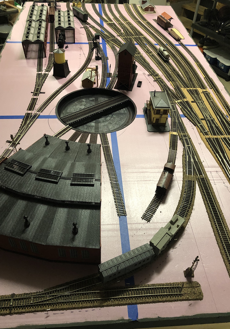 modular train track