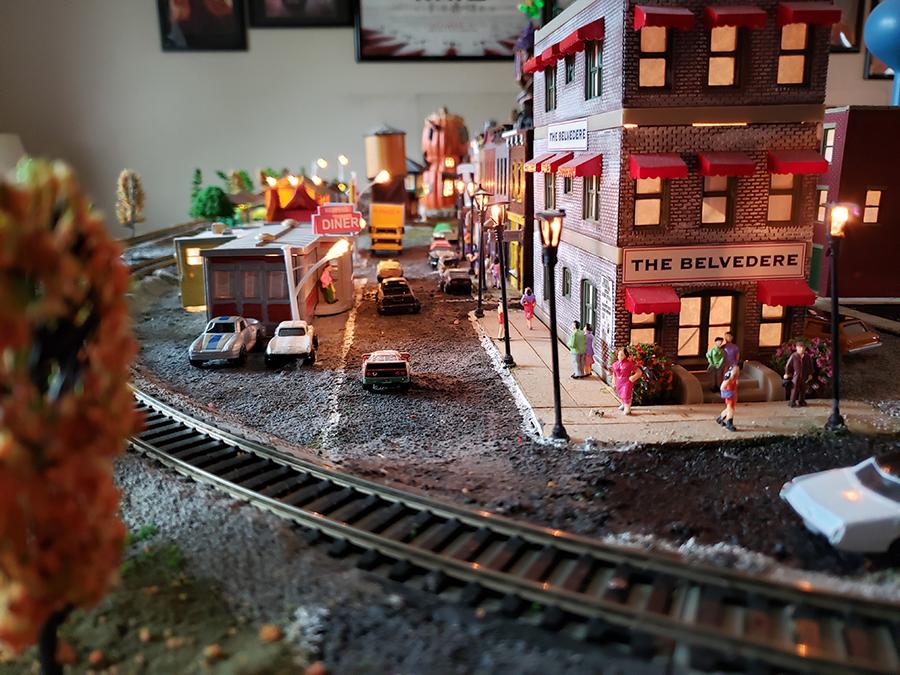 HO railroad