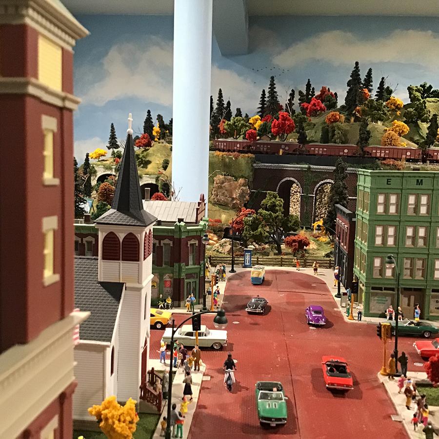 model train street