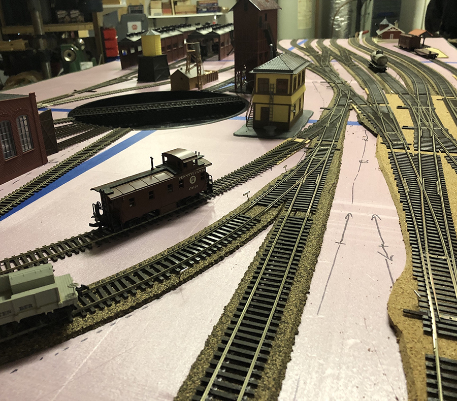 modular switching model railroad