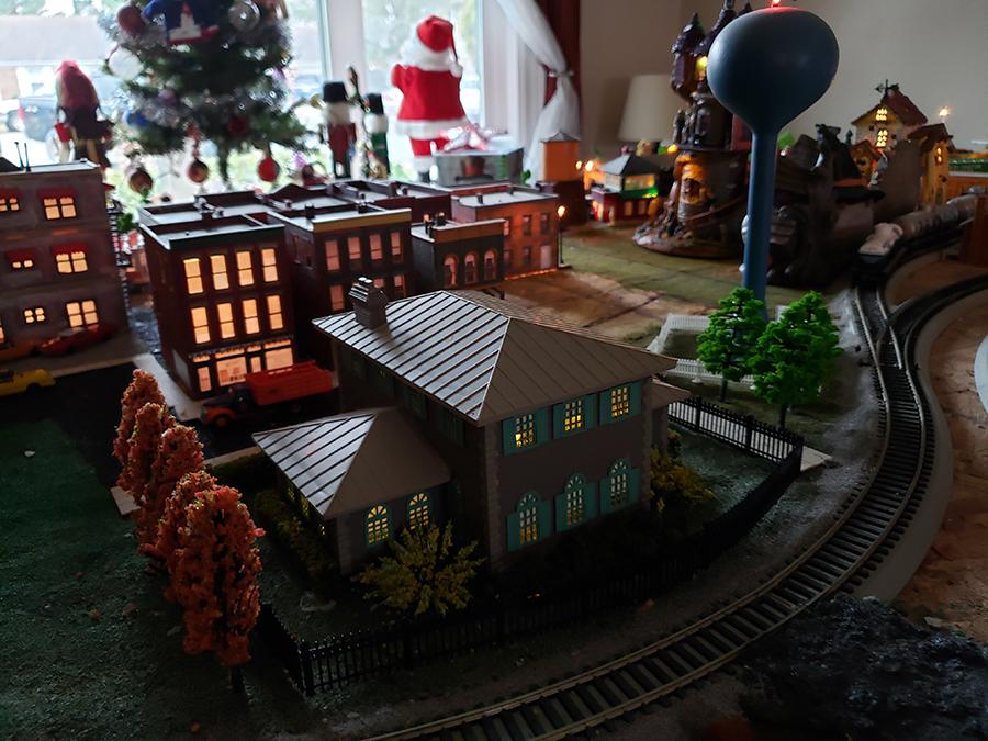 HO model railroad