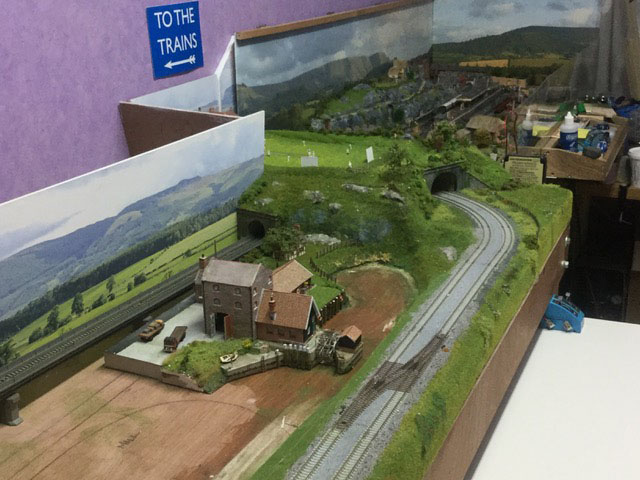 model railway tunnel