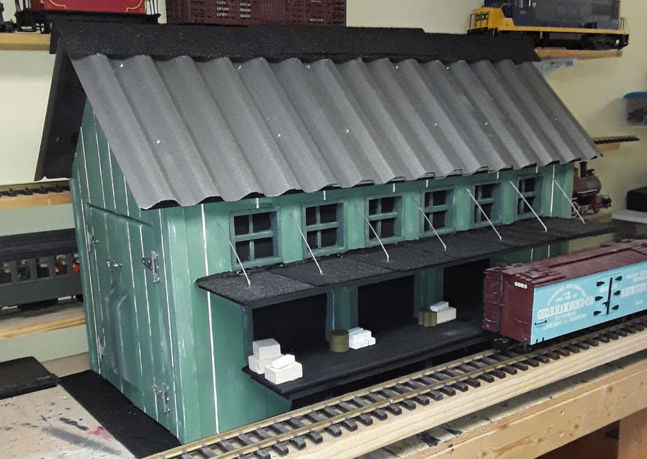 g scale building