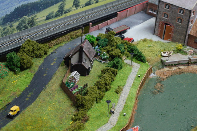 model railway house