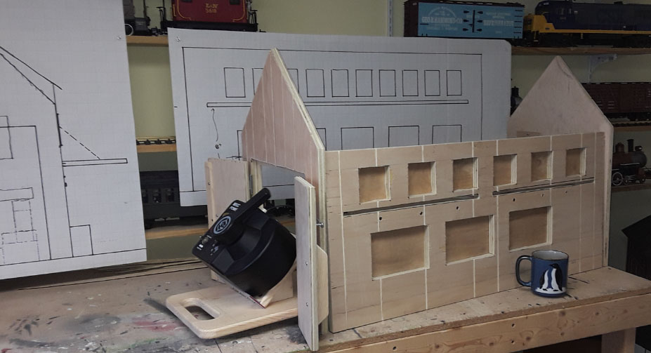 building g scale house