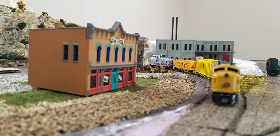n scale freight