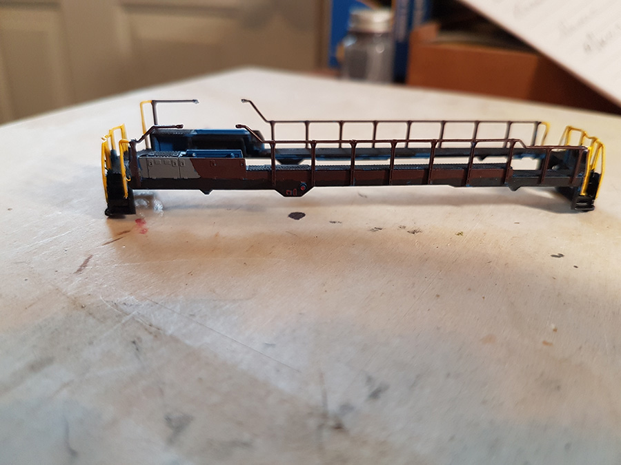 n scale loco paint