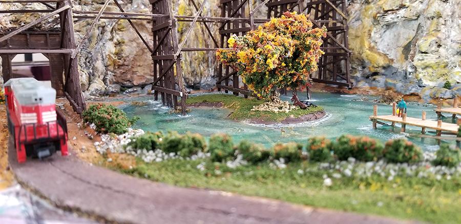 n scael pond