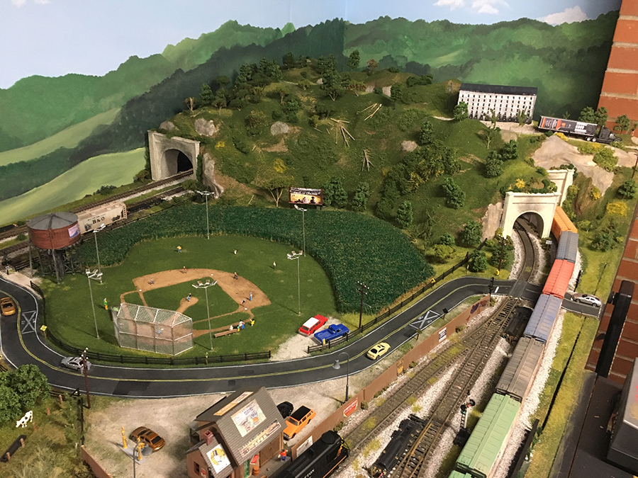HO scale tunnel