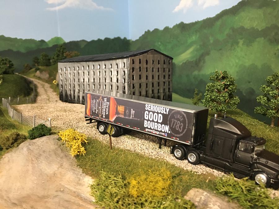 HO scale lorry