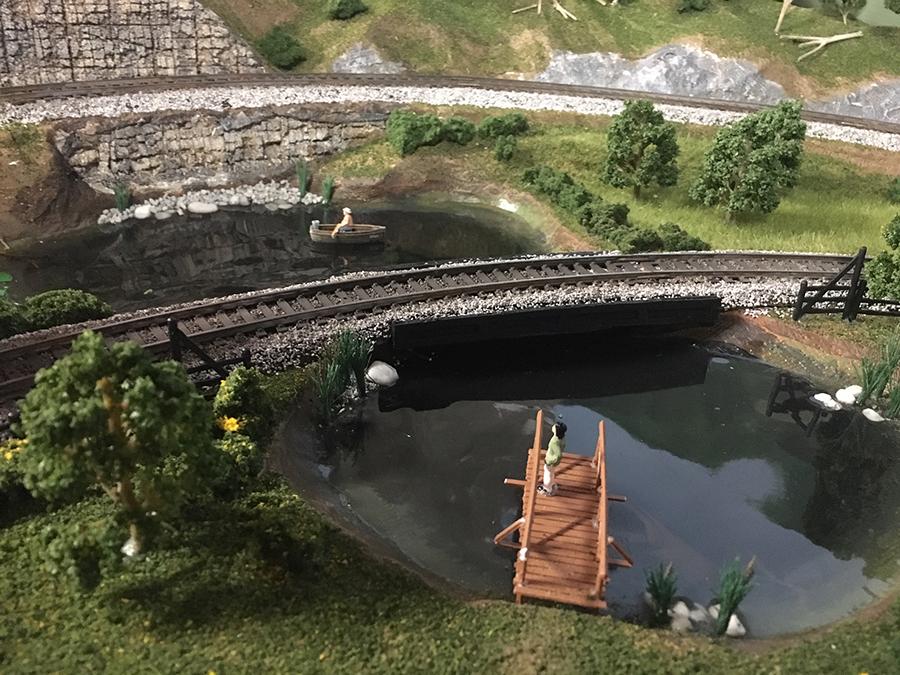 HO scale bridge