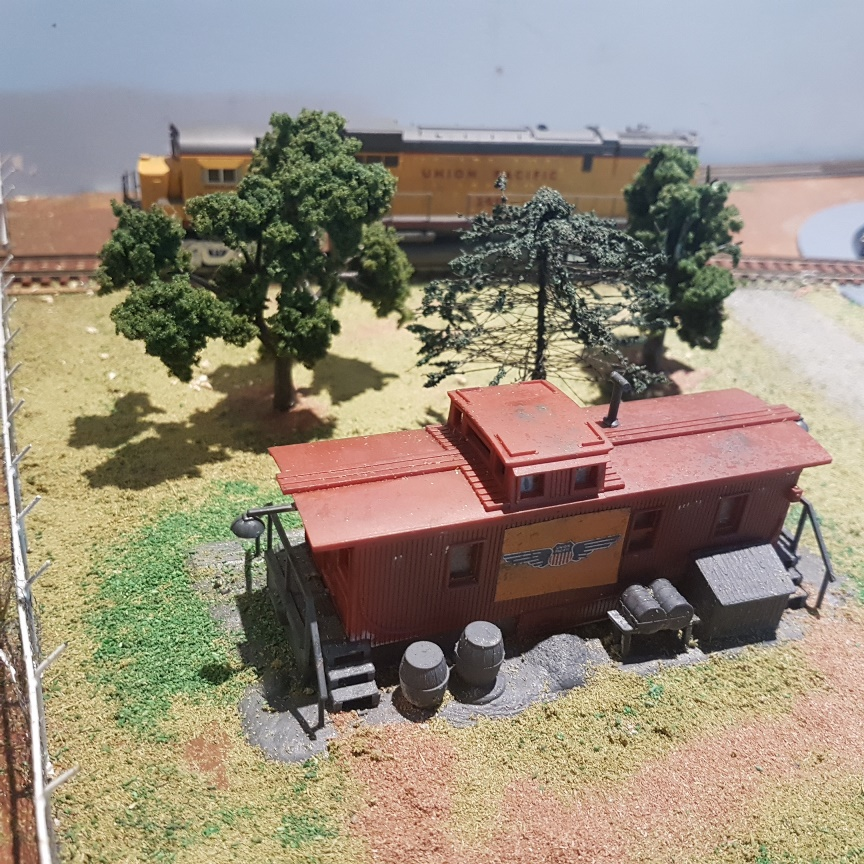 HO scale caboose