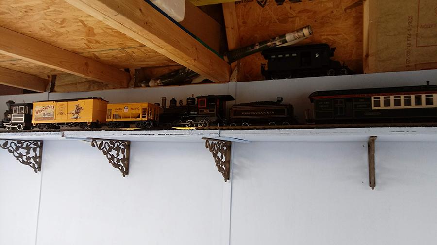 g scale model train