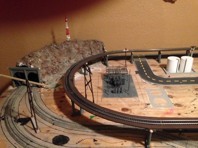 HO train track
