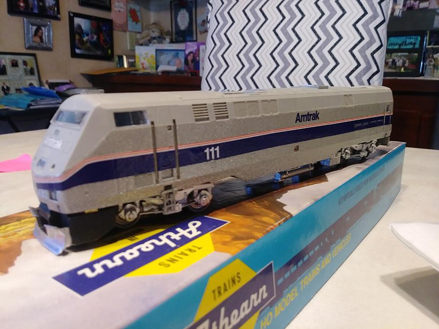 model train loco