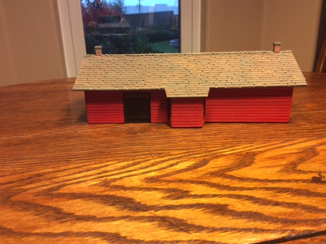 old train station scratch build
