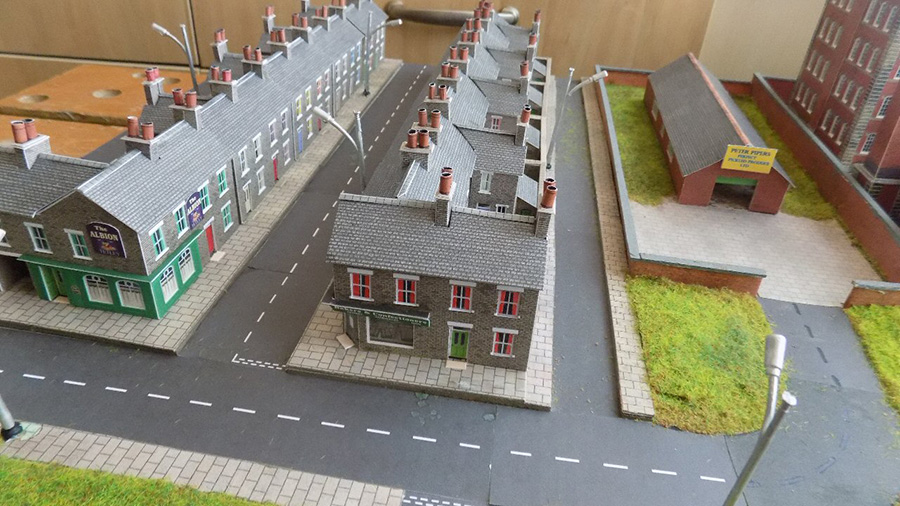 model railway street