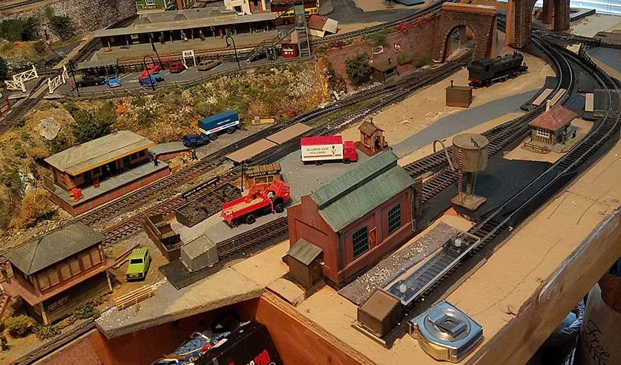 yard for model railroad
