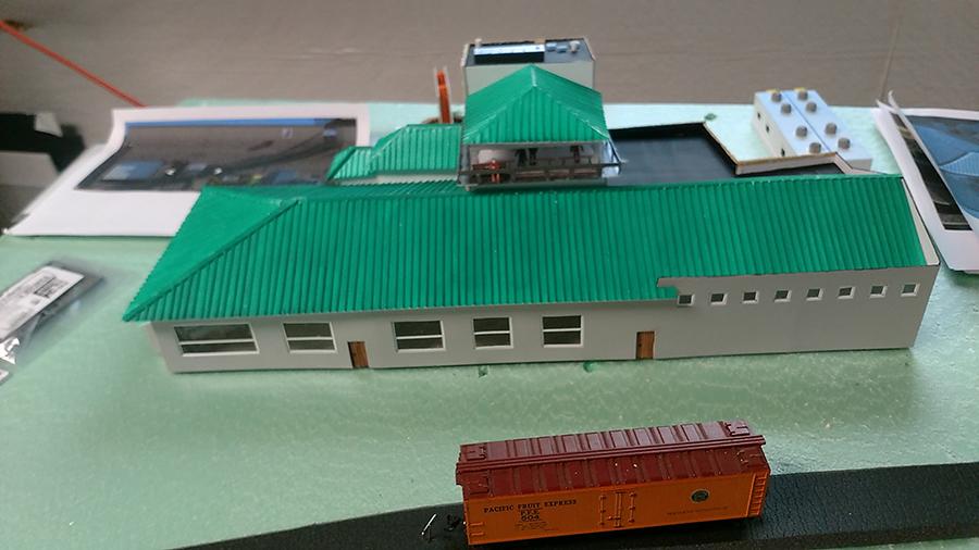 rail yard terminal