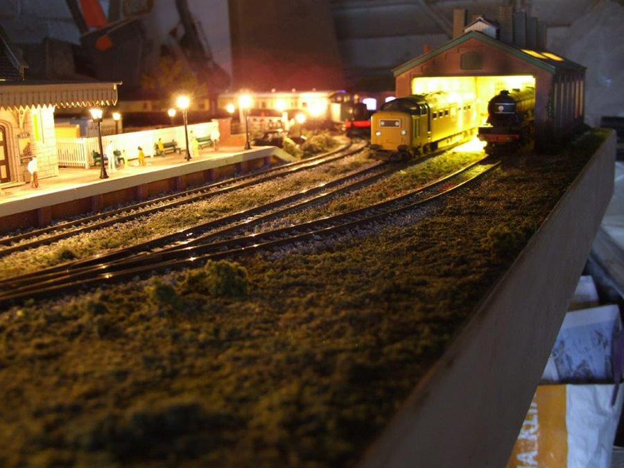 5x3 model railroad