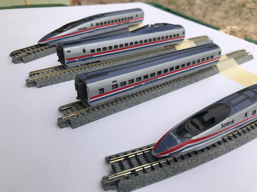 amtrak bullet train