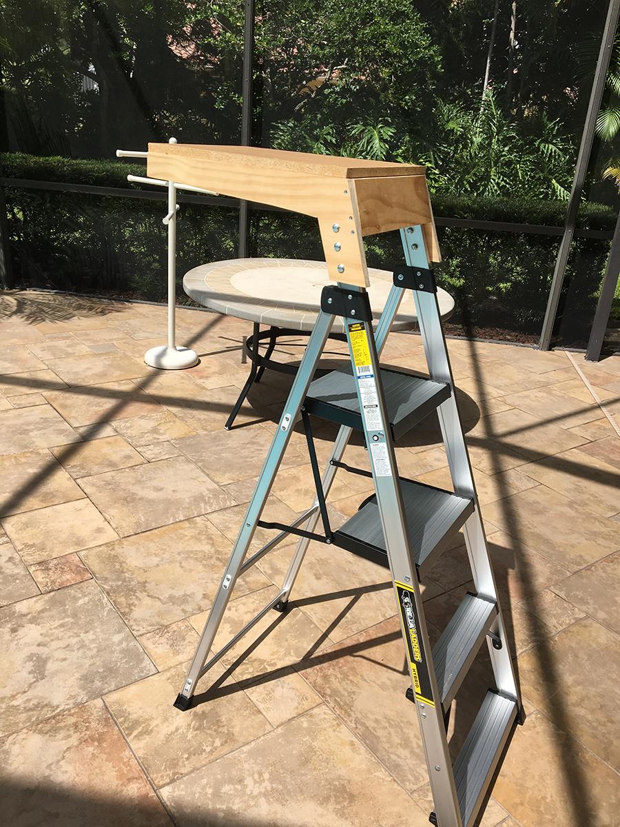 model railroad access chair