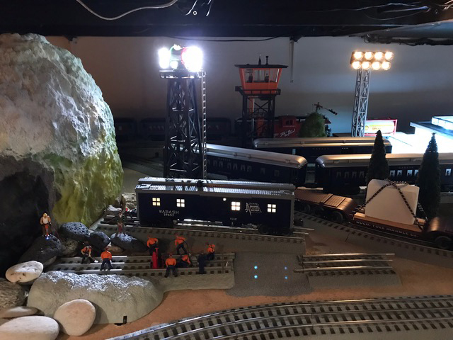 O scale model railway