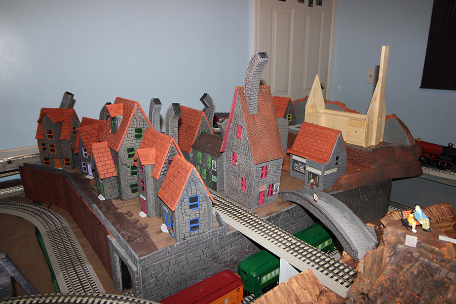 Harry Potter model railway