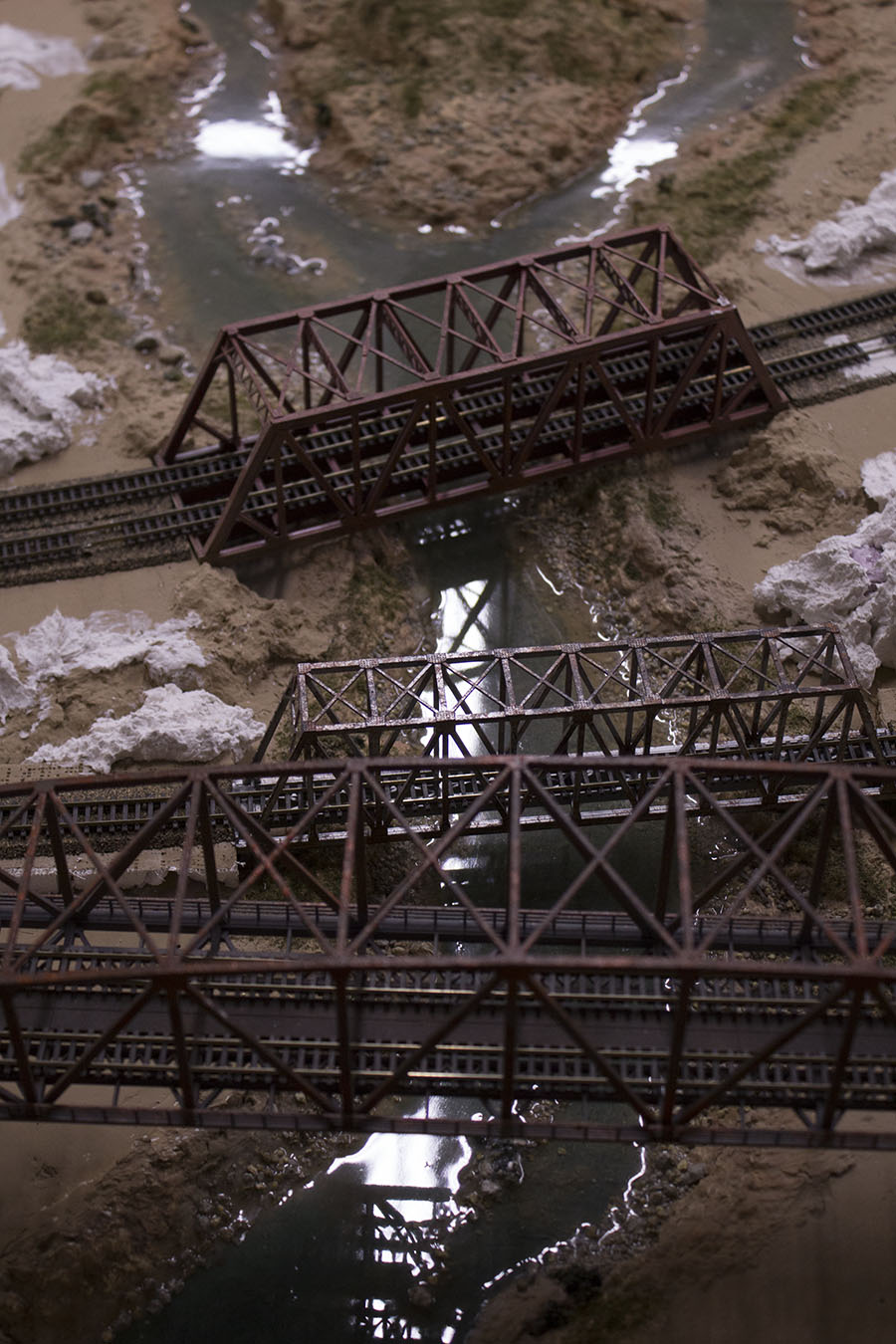 n scale railroad bridge