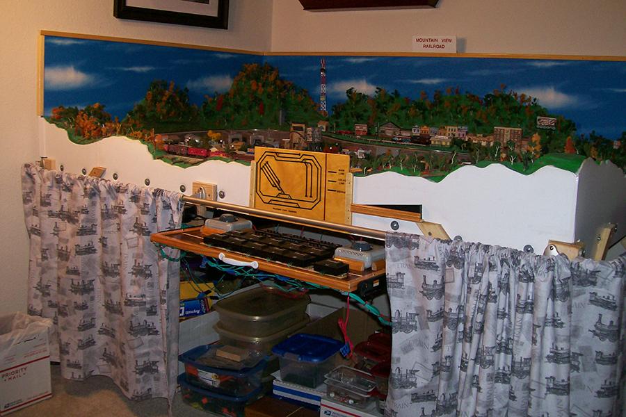 n scale mountain view model railroad