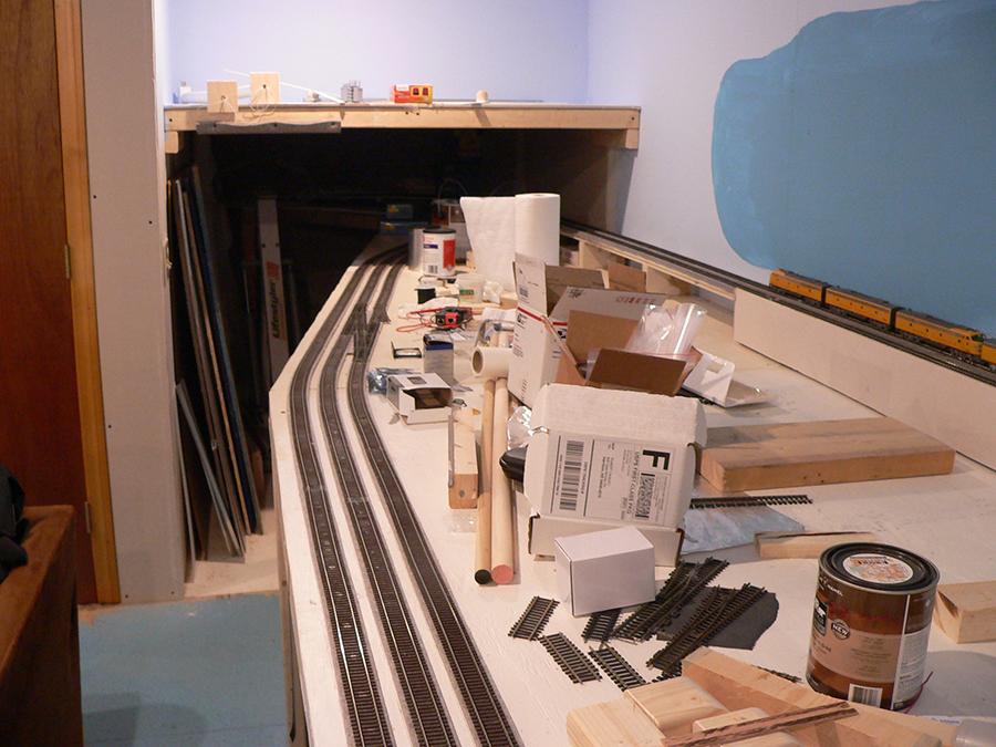 20x32ft train layout