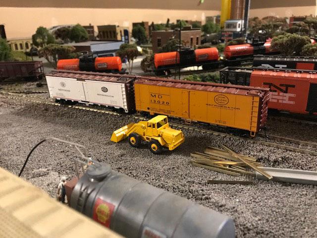 HO scale railroad