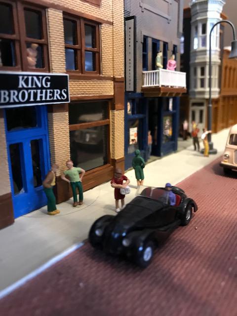 HO scale model railway