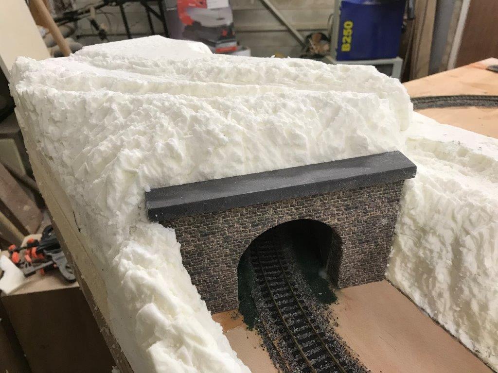 5ft x 3ft model railroad