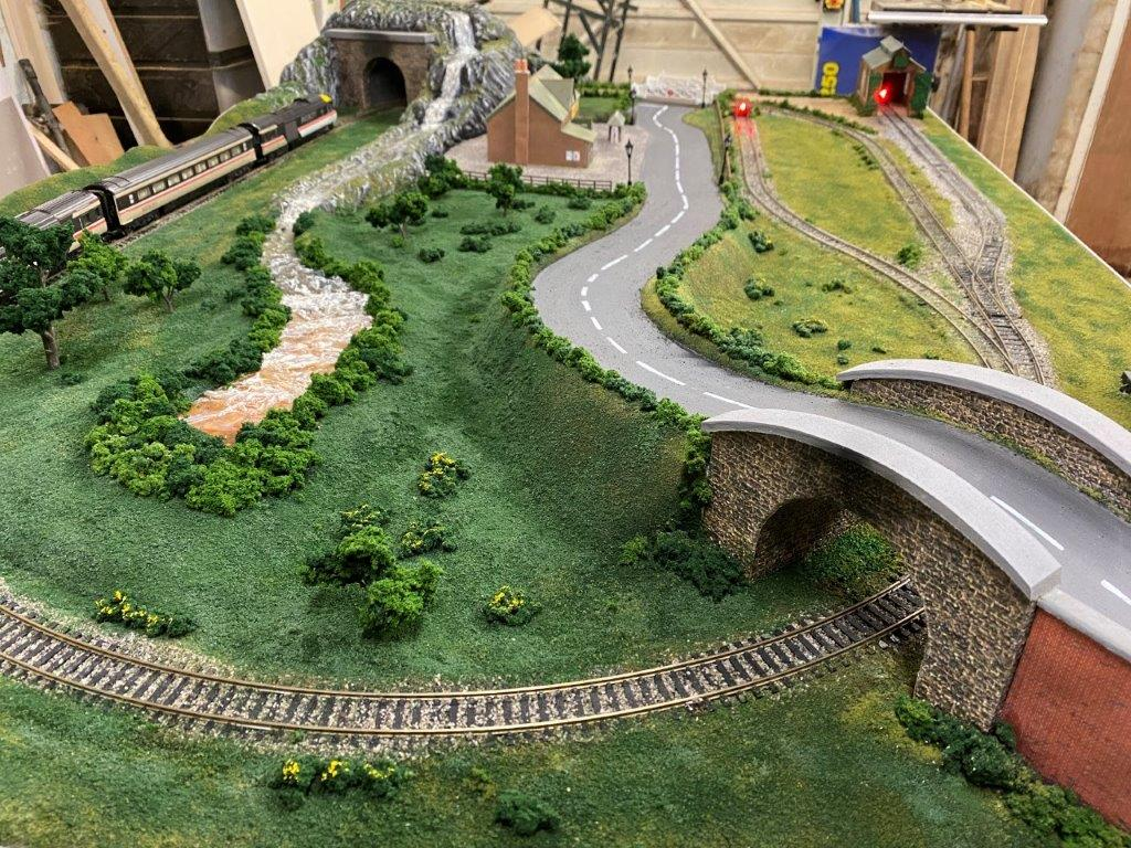 5ft x 3ft model railway