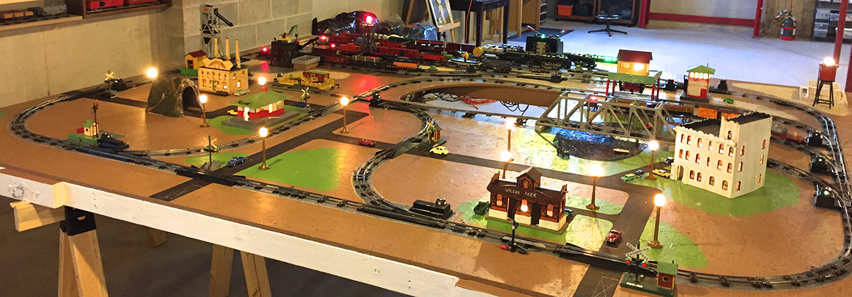 american flyer train layout