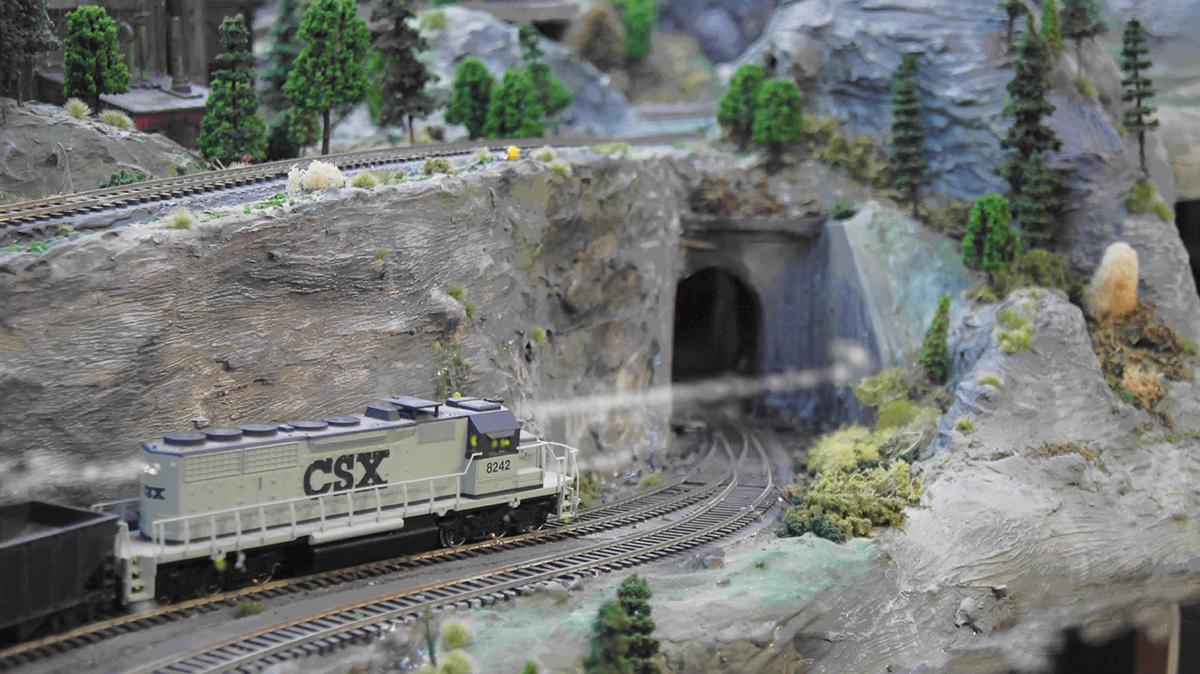 coal mine layout