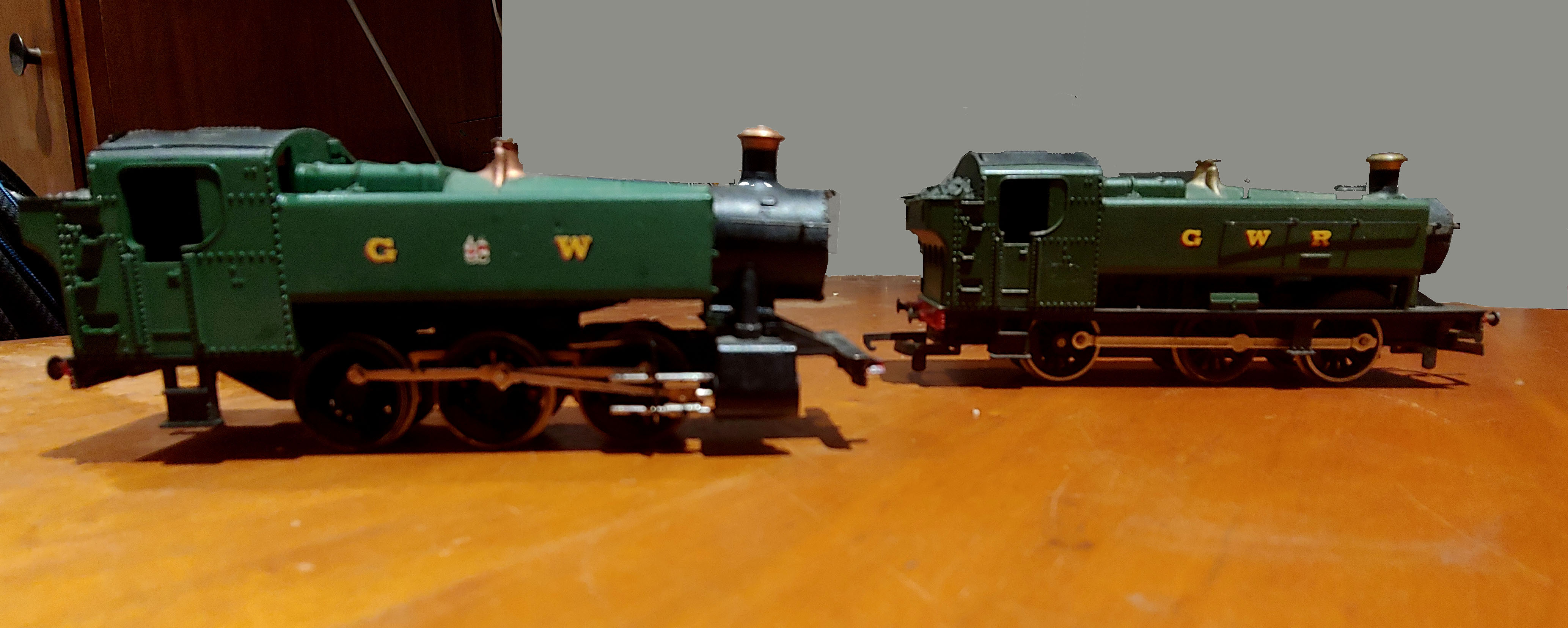 GWR loco modification