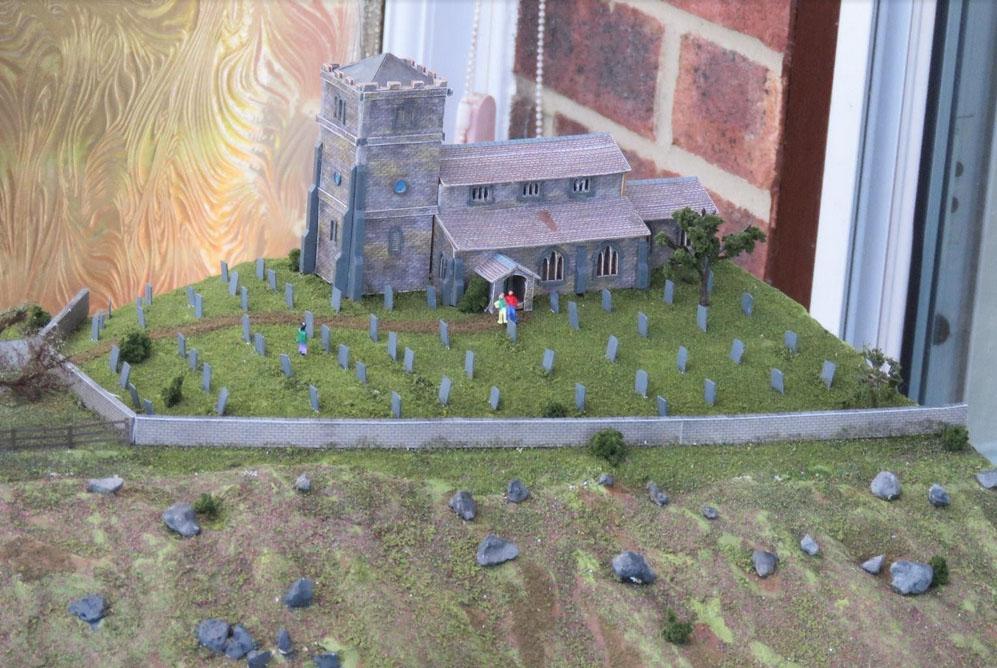 model railway church